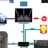 schemat podłączenia wideodomofonu